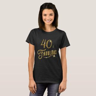 40 Forty och sagolikt födelsedagfirande Tee Shirt