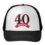 40 något 40th födelsedag baseball hat