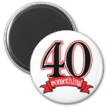 40 något 40th födelsedag magnet för kylskåp