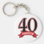 40 något 40th födelsedag nyckel ring
