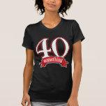 40 något 40th födelsedag tshirts