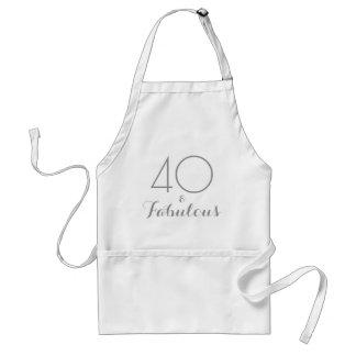 40 och sagolikt förkläde
