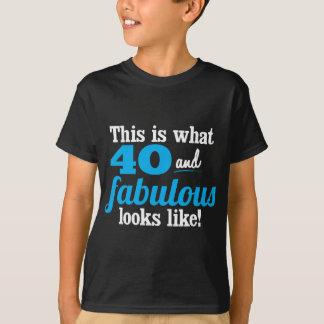 40 och sagolikt t shirts