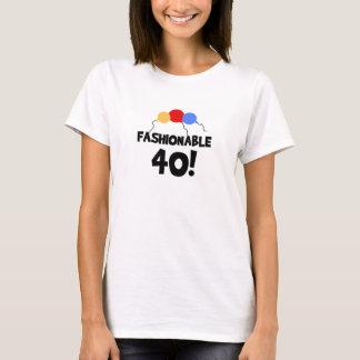 40th födelsedag för INNEGREJ 40 T-shirts
