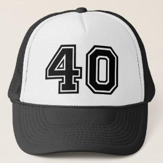 40th Födelsedagklassiker Truckerkeps
