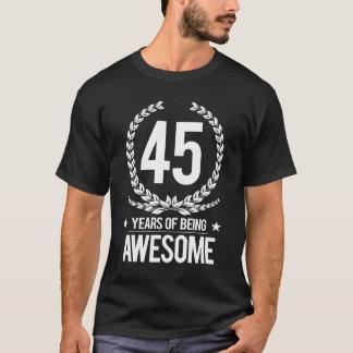 45th Födelsedag (45 år av att vara enorma) Tee Shirts