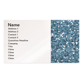 4865__desert-spring-glitter-blue TÄNDER - blåttDEP Set Av Standard Visitkort