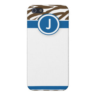 4 funkysebrablått choklad iPhone 5 cases