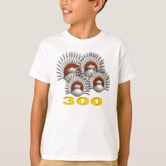 4 kalkoner likställer 300 tee shirts