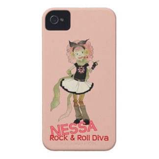 4 lite monster - Nessa Case-Mate iPhone 4 Skal