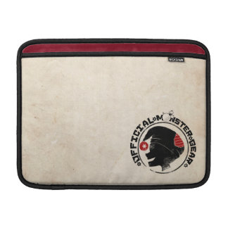 4 lite monster - Nigel helgdaglogotyp MacBook Air Sleeve