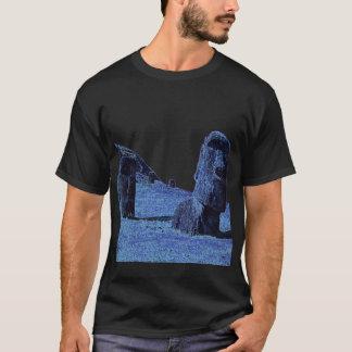 4 Moai, påskö T Tee Shirt