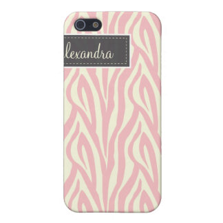 4 sebra Pern (tända - rosor), iPhone 5 Cases