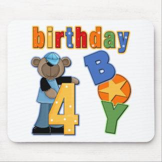 4e födelsedagengåva mus matta