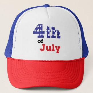 4th av den juli hatten truckerkeps