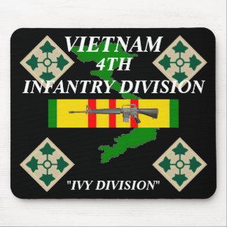 4th Infanteri Vietnam Mousepad 2/b Musmatta
