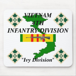 4th Infanteri Vietnam Mousepad Musmatta