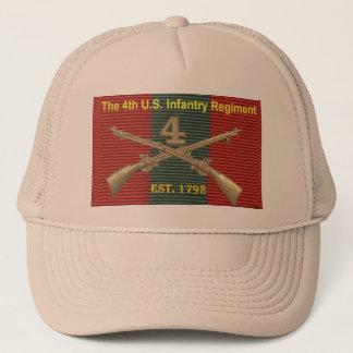 4th Infanterit Regiment historia DUI Keps