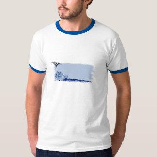 4th Juli Iwo Jima välsigna digAmerika T-tröja T-shirts