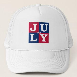 4th Juli Truckerkeps