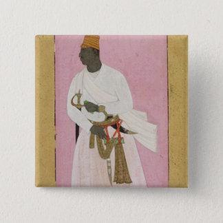 50.14/8 Porträtt av Malik bärnsten som är inskrive Standard Kanpp Fyrkantig 5.1 Cm