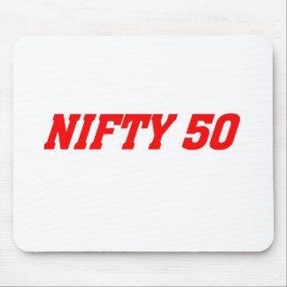 50 är nifty musmatta