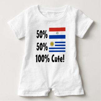 50% gullig paraguayansk 50% uruguayansk 100% tee shirt