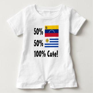 50% gullig venezuelansk 50% uruguayansk 100% tee