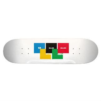 50 miljard dollar mini skateboard bräda 18,5 cm