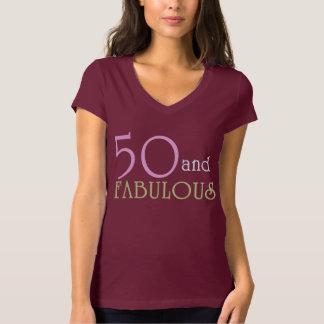 50 och SAGOLIK födelsedagutslagsplats T Shirts