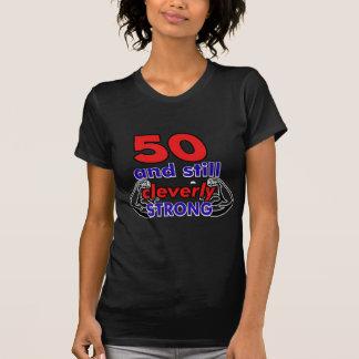 50 och stilla cleverly starkt tshirts
