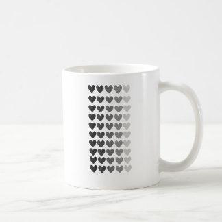50 skuggar av grå färghjärtaShapar Kaffemugg
