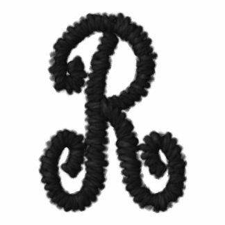 50-tal broderade Monogramskjortan
