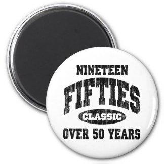 50-talklassikerfödelsedag kylskåps magneter