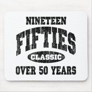 50-talklassikerfödelsedag mus matta