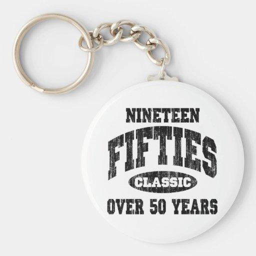 50-talklassikerfödelsedag nyckel ring