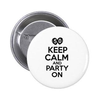50th årsfödelsedagdesigner