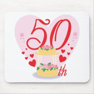 50th bröllopsdag musmattor