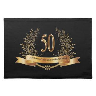50th bröllopsdaggåvor för lycklig bordstablett