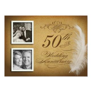 50th Inbjudan för foto för årsdagfinarefjäder 2