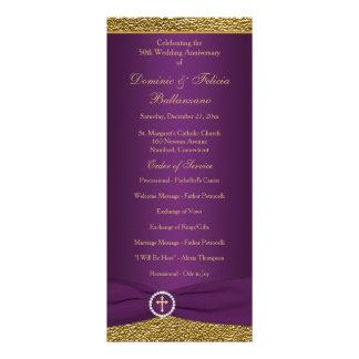 50th Program för bröllopsdagVowförnyande