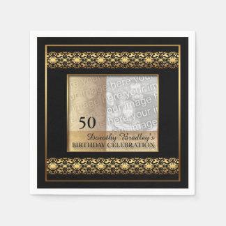 50th Servetter för papper för