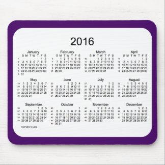 52 kalender för veckor 2016 vid Janz lilor Mus Matta