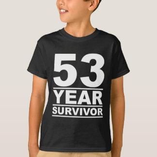 53 år överlevande tröjor