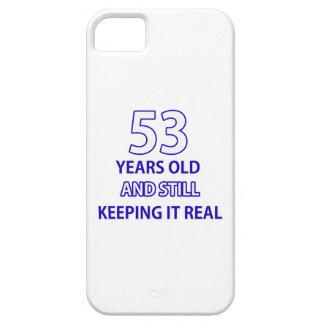 53 födelsedag design iPhone 5 Case-Mate fodraler