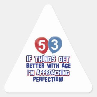 53.png triangelformat klistermärke