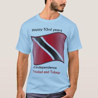 53rd år av självständighet av Trinidad och Tobago Tee