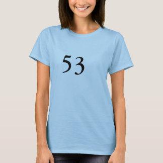 53rd Födelsedag Tee Shirt