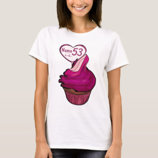 53rd FödelsedagmuffinT-tröja Tee Shirt