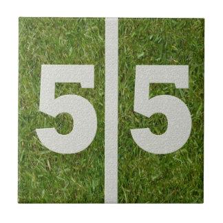 55th Födelsedagfotbollanpassadet belägger med tege Kakel